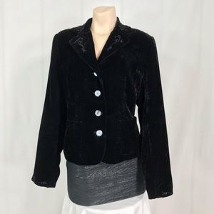 Coldwater creek black blazer size small